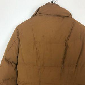 Athleta Jackets & Coats - Athleta Camel Grey Down Filled Puffer Utility Coat